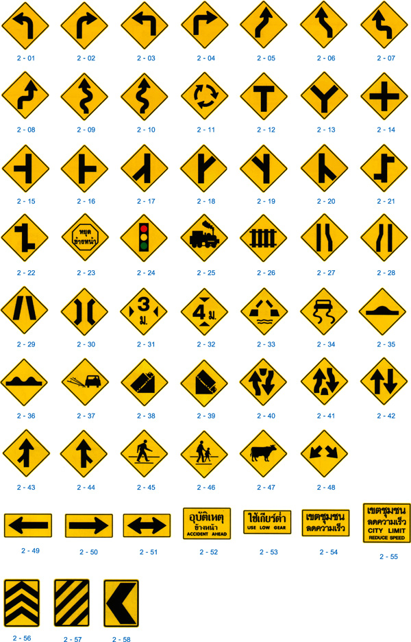 the gallery for gt warning traffic signs and meanings